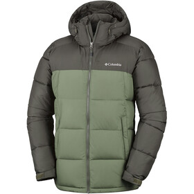 Columbia Pike Lake Hooded Jacket Men Peatmoss/Mosstone